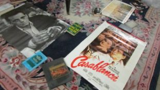 Approximately 26 assorted posters including film, aircraft, travel etc.