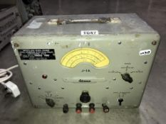 A vintage advance signal generator (J1/A modelCT433) (Collect only & sold as seen)