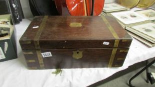 A Victorian writing box, a/f.