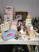 A good lot of mainly vintage Sindy dolls and accessories.