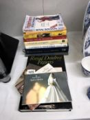 A selection of Antique reference books including Royal Doulton & Pendelfin