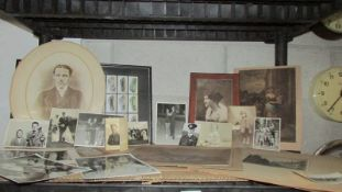 A large collection of old competition and other photographs.