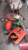 A good lot of garden electrics including working G tech strimmer.