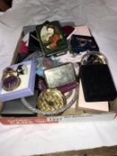 A quantity of costume jewellery including good lot of cufflinks