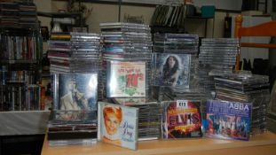 A good lot of CD's including over 120 album sets and over 70 singles.