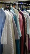 In Excess of 25 retro/modern ladies jumpers and cardigans, mostly in good condition,