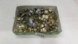 A quantity of uniform buttons.