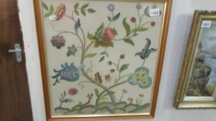 A silk tapestry of flowers