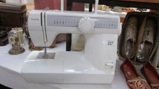 A Toyota electric sewing machine.