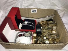 A mixed lot of ladies & gents watches etc.
