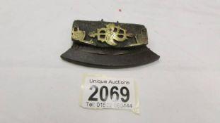An antique Tibetan fire striker iron.