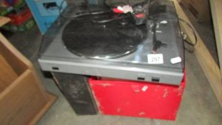 A quantity of LP records (water damaged),