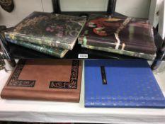 6 albums of postcards including Lincolnshire, Yorkshire & Bradford etc.
