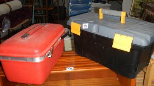 Two tool cases.