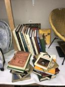 A good collection of books on clocks & watches (The clock jobbers handy book has loose pages)