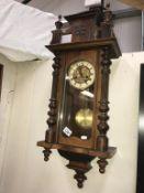 A Vienna wall clock