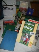 A good lot of golf and cricket books.