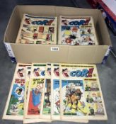 A good collection of early 1970's Cor!! comics (approximately 110 comics)