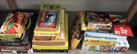 A good lot of board games including Mouse Trap, anticipation, Bullseye & Lego etc.
