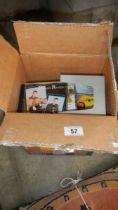 A quantity of DVD's.