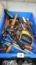 A box of tools etc.