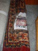 "A patterned carpet, 8'5"" x 11'10"","