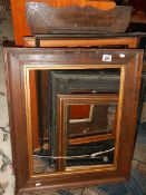 A good lot of old picture frames.
