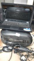 An HP computer, printer etc.