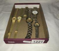 6 wristwatches
