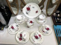 A Royal Albert 21 piece tea set 'Sweet Romance'