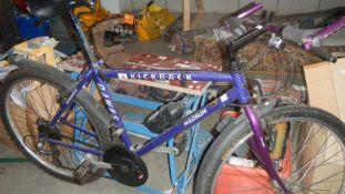 A Dawes hand built kick back Magnum bicycle.