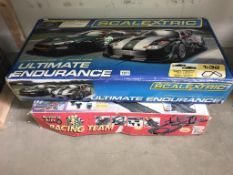 A Scalextric Ultimate Endurance (no cars) & a Super Auto racing Team with cars