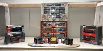 A selection of boxed Die cast vehicles including Corgi original Omnibus,