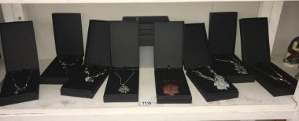 10 boxed 'Nialaya' necklaces (8 different styles)
