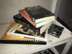A selection of books &2 cassettes on The Beatles