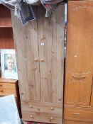 A two door wardrobe,