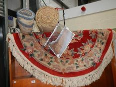 A quantity of rugs.