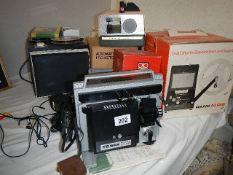 A quantity of projectors etc.
