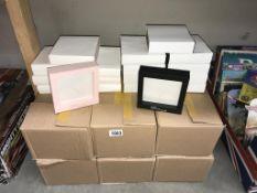 78 new photo frames (Treso Paris) 60 black & 18 pink
