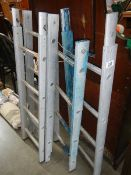 Four extensions to make up a ladder.