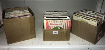 Approximately 250 45rpm records (1960's/70's/80's) including Jason Donovan, Bobby Gee,