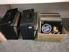 A quantity of LP records including Acker Bilk, Perry Como, Andrew Sisters & Shirley Bassey etc.