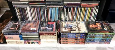 A large quantity of CD's including quantity of compilation film DVD's