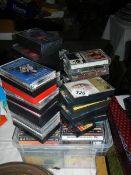 A quantity of CD's.