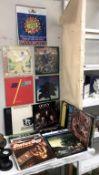 A good lot of LP's ELO x 5, Queen x 2, Fleetwood Mac x 2, Elton John x 2, Buddy Holly x 2,