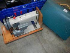 A Jones sewing machine.