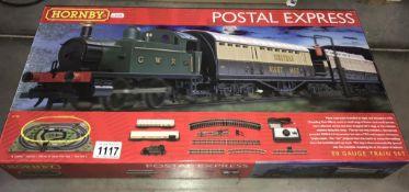 A Hornby R1180 Postal Express '00' gauge train set