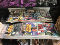 A good collection of Star Wars Weekly comics & The Empire Strikes Back comics (approximately 80