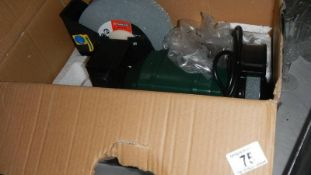 A boxed wet and dry grinder.