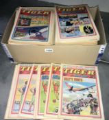 An excellent collection of 1970's Tiger & Scorcher comics (approximately 160 comics)